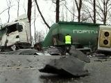 8 человек погибли в крупном ДТП в Ленинградской области