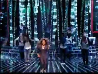 Janet Jackson's Live Performance On The X Factor 2009 New
