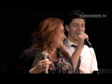 Josh and Niamh Kavanagh singing