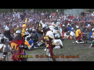 Warszava Battle of Nations 03-05-12 1 fight 0:0 all against all