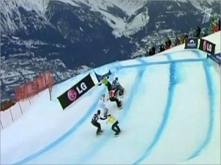 Российский сноубордист Андрей Болдыков одержал историческую победу - Первый канал