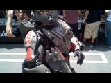 Halo Armor Cosplay at Free Comic Book Day 2011