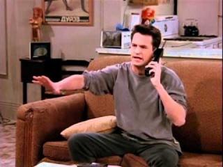 Friends - Chandler and Baywatch Run Yasmeen!