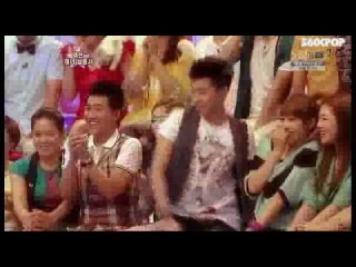 WooYoung (2PM) vs. Old Lady_Star King ep 168