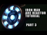 TUTORIAL - IRON MAN ARC REACTOR Costume Light Prop - PART 3