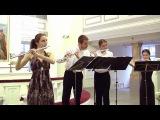 И.С. Бах. Менует и Скерцо из сюиты си минор (BWV 1067) - Квартет флейт CUENTO