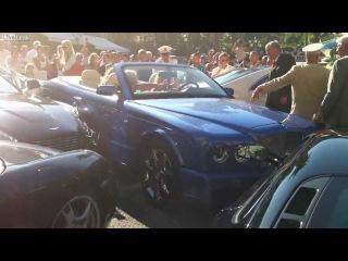 Авария на 50,000,000$ - Телки на Бентли уебали на ровном месте около 10 самых дорогих машин мира