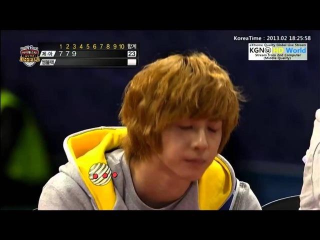 130211 방송 broadcast 130128 130129 7 BAP @ MBC idol star olympic sports championship athletic