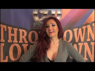 Throwdown Lowdown - Maria Kanellis (3.5.13)