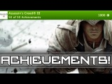 ASSASSINS CREED 3 Achievements - Full Achievements List
