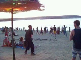 Boom Festival 2012, Funky Beach in the evening