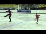 14 L. FEDOROVA / M. MIROSHKIN (RUS) - JGP GER / Chemnitz Junior Pairs Free Skating