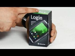 Обзор MegaFon Login: самый недорогой Android-смартфон