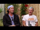 Flea from the Red Hot Chili Peppers with Mark Hoppus on Fuse