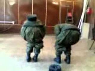 Армейский прикол. Черепашки ниндзя: танцы.