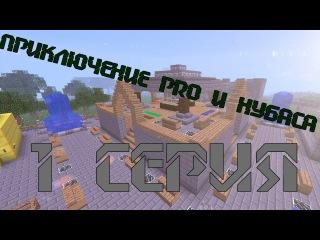 Приключение Pro и Нубаса на сервере