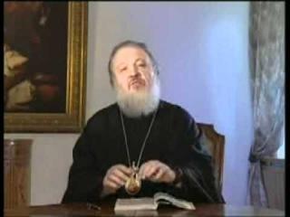 Патриарх Кирилл Основы Cоциальной концепции Русской Православной Церкви   Церковь и светские СМИ 2001 flv