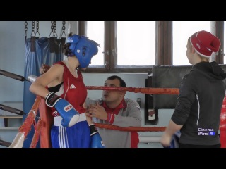 Бокс девушки. Russian girls in boxing. 在拳击比赛中的俄罗斯姑娘。