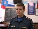 Челябинский пожарный спас детей, рискуя своей жизнью (РОССИЯ24, 07-01-2013)