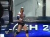 Goldberg entrance at Backlash 2003