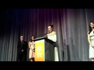 Olivia Wilde delivers Harvey Weinstein's message to Michelle Bachmann