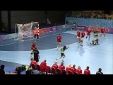 Russia vs Kazakhstan, Brazil vs Denmark - Womens Handball Semi-finals - Singapore 2010 Youth Games