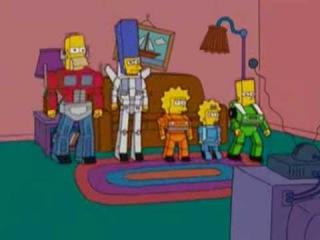 Los Simpson Transformers