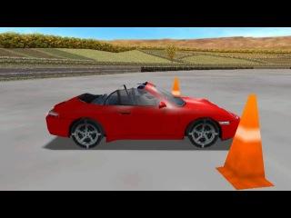 NFS Porsche Unleashed - Stunt Moves - 180 + 360