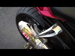 Yamaha FZ-1 Stock vs Yoshimura TRC Slip On Exhaust