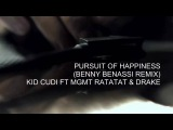 KiD CuDi ft MGMT &amp Ratatat - Pursuit of Happiness (Benny Benassi Remix)