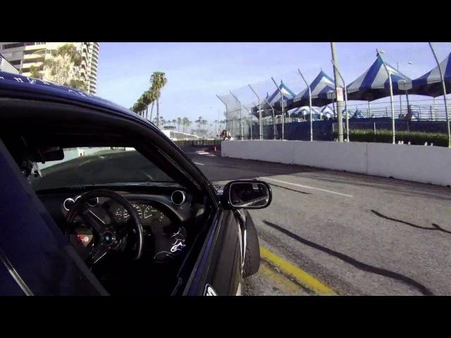 Nick D'Alessio does Formula Drift Long Beach 2012