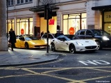 Rich ARAB Millionaire Boy Racers! Supercars in London! Ferrari California, 458, Audi R8 V8, BMW M5
