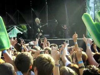 The Pretty Reckless - Since You're Gone (Tuborg Greenfest 2011 In Saint-Petersburg)