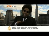 Cornel West blasts US poverty catastrophe