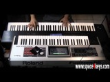 Korg Kronos + Fantom G - Piano Vs Piano - Performed by S4K ( space4keys keyboard solo )