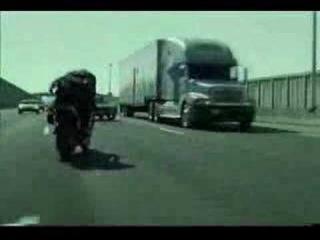 MATRIX Reloaded - Awesome Bike stunt