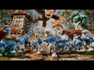 Видео к мультфильму «Смурфики 2» (2013): Тизер №2 (дублированный)