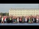 Санкт-Петербург_Флешмоб выпускников на воде_2012