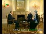 Интервью Владимира Путина в Чечне
