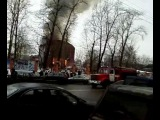 Пожар в Саду Эрмитаж