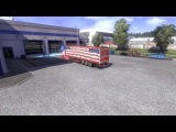 ETS2 Scania USA Skin & Trailer by akin-koeln