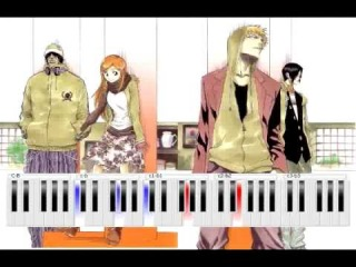 Bleach - Alones [Aqua Timez] - Piano Tutorial