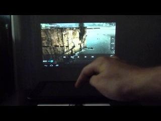 Сургут Планшет видеообзор планшета с проектором SmartQ U7 Projector
