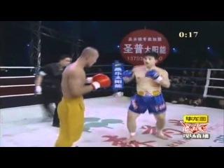 монах Шаолиня против кикбоксеров и прочих ударников