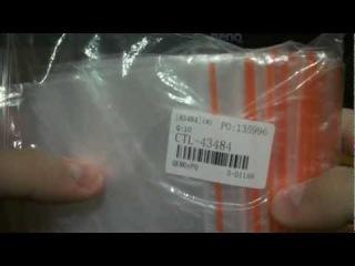Прозрачные пакеты 100x70mm с клипсой (TinyDeal.com)