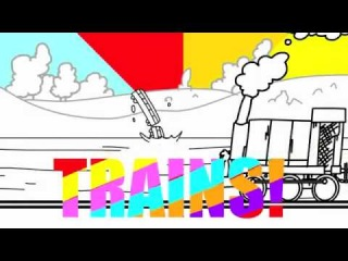 I like trains adsf