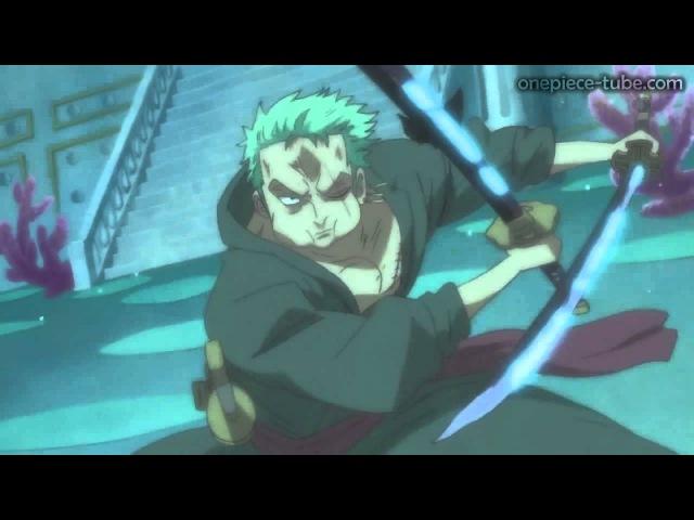 One Piece - Zorro VS Hody Jones HD Ger Sub (Episode 536)
