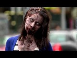 Zombie Experiment NYC зомби флешмоб - ВОТ ЭТО Я ПОНИМАЮ ФЛЭШМОБ !!!