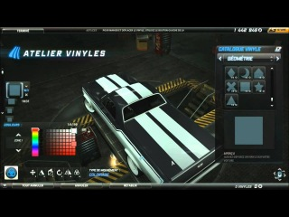 Need For Speed World Cesar DeLeon Chevrolet El Camino SS (Purple Edition) Tuning