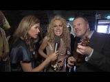 Eurovision 2011 artists singing an old German Folk song with the presenters.